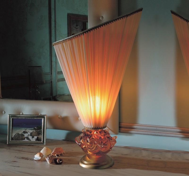 Designerska lampa ze szkła murano Il Paralume Marina