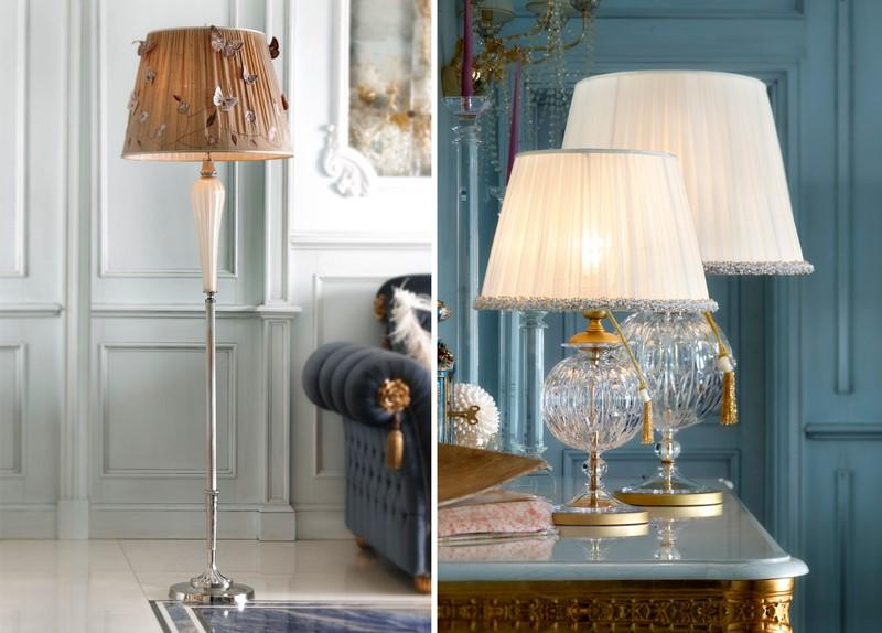 Designerskie Lampa stołowe w stylu klasycznym Il Paralume Marina