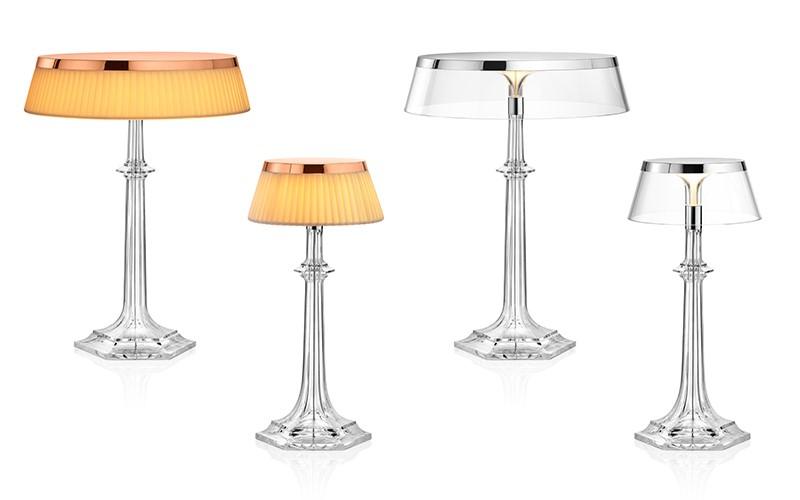 Designerskie lampy stołowe Bon Jur Versailles Philippe Starck warianty