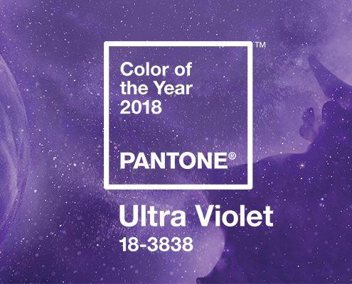Kolor Roku 2018 Pantone Ultra Violet
