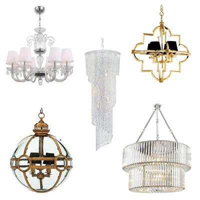 Lampy sufitowe modern classic klasyczne