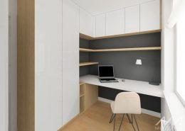 Projekt małego, domowego biura