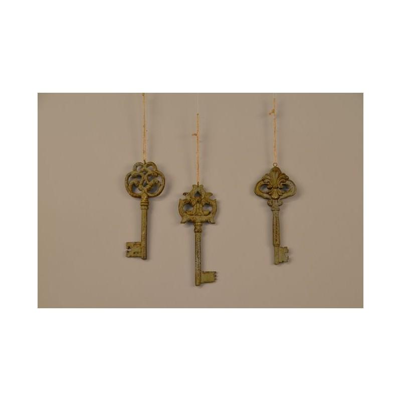 Zawieszka klucze vintage