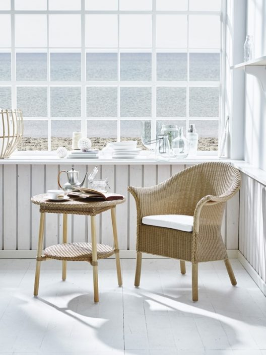 Krzesło z podłokietnikami Classic Loom Living  Sika