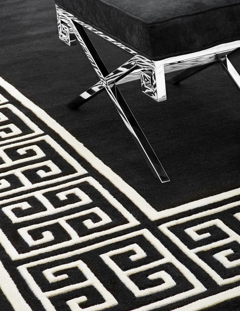 Elegancki dywan w salonie