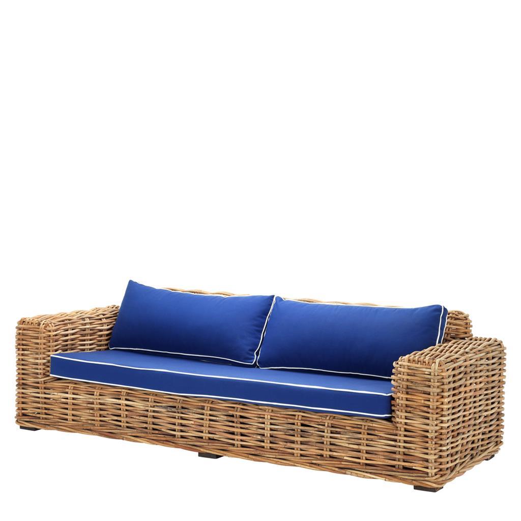 Rattanowa sofa Foster Eichholtz