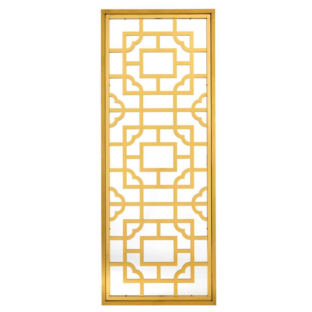 Złote lustro Tory 85 x 220 cm Eichholtz
