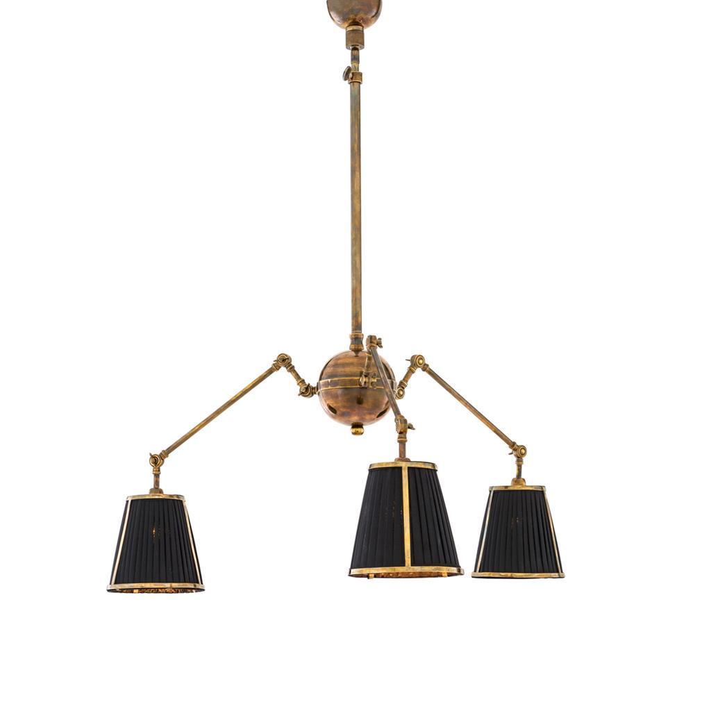 Lampa wisząca Constance vintage brass finish Eichholtz
