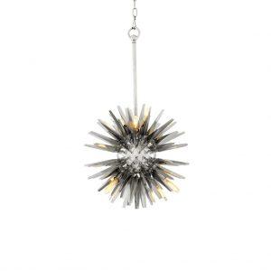 Żyrandol Gregorian S polished stainless steel Eichholtz