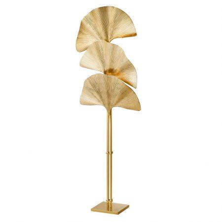 Lampa podłogowa Las Palmas złota Eichholtz