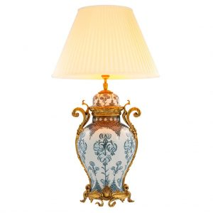 Lampa stołowa Armand blue Eichholtz
