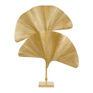 Lampa stołowa Las Palmas polished brass Eichholtz