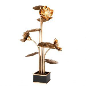 Lampa stołowa Nizza vintage brass finish Eichholtz
