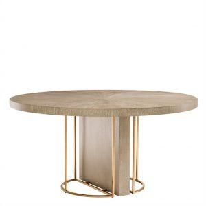 Okrągły stół Remington ø 152 cm okleina dębowa Eichholtz