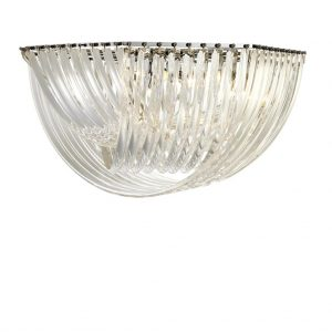 Lampa wisząca Hyères ø 90 x H. 45 cm Eichholtz