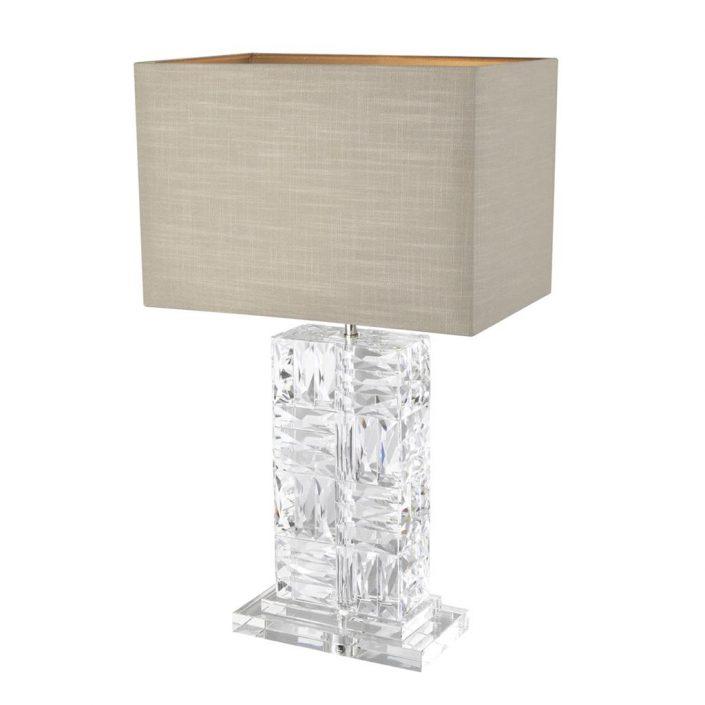 Lampa stołowa Contemporary Abażur Eichholtz