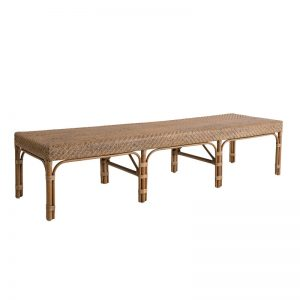 Rattanowa ławka bez oparcia Luis Originals Sika