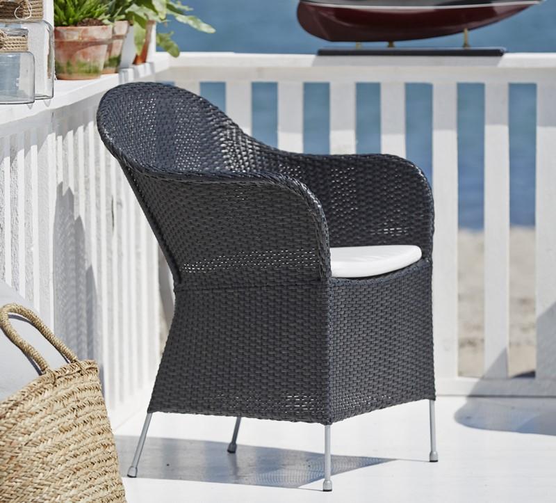 9140S meble Sika Eleganskie krzesła zewętrzne