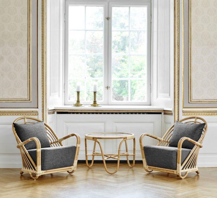 Fotel Charlottenborg Icons  Sika