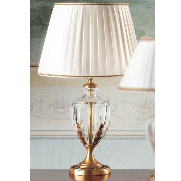 Ekskluzywna lampa stołowa w złocie 867 Il Paralume Marina