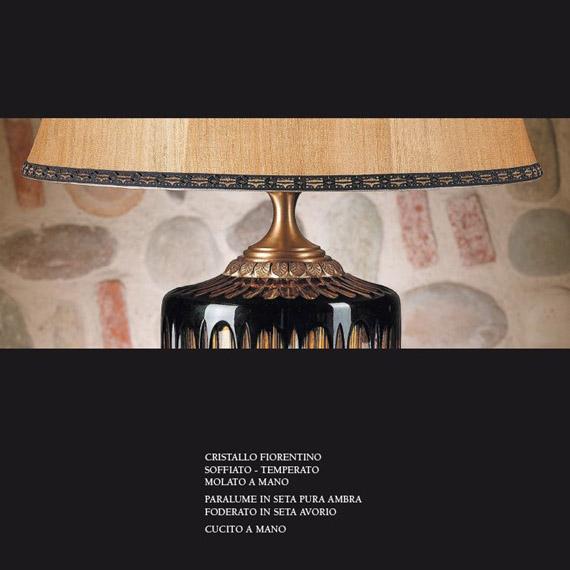 Klasyczna lampa kryształowa złota TL53 Il Paralume Marina