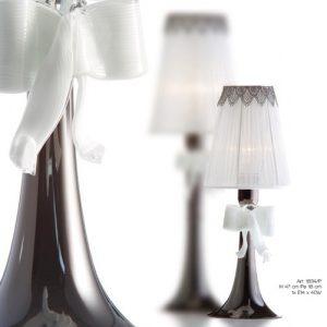 Nowoczesna lampka nocna ze szkła murano