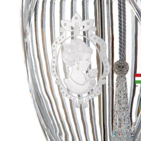 Luksusowa lampa stołowa z kryształu 1848 Il Maralume Marina