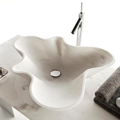 Kreoo marmurowe umywalki i płytki