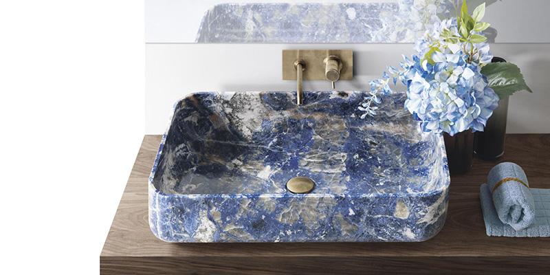 Kreoo umywalki z marmuru