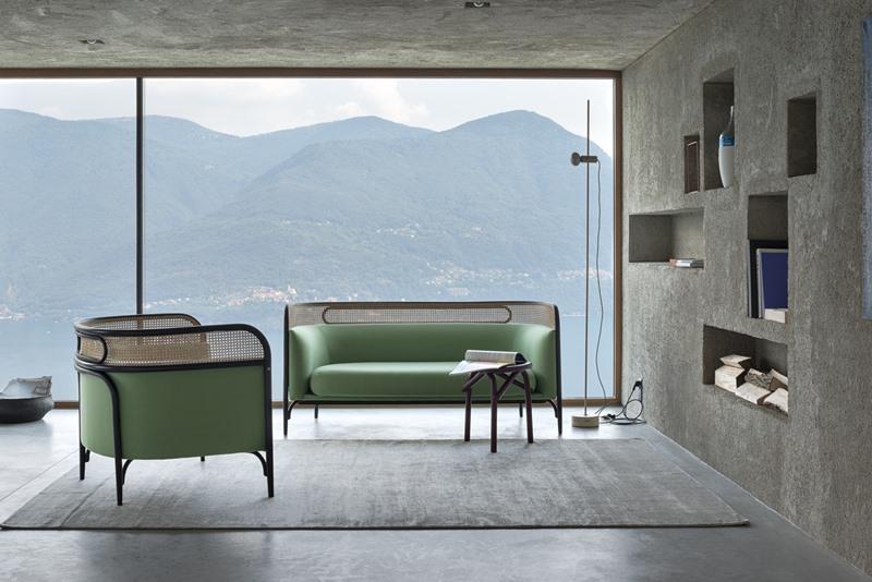 Meble z rattanu - fotel i sofa