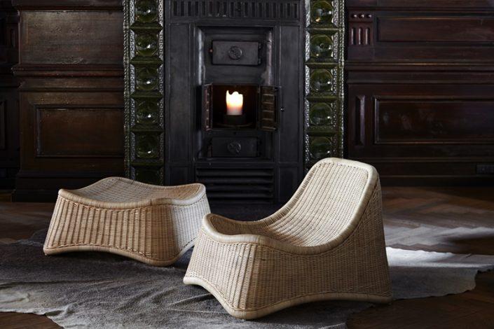 Fotel z podnóżkiem Chill Icons  Sika