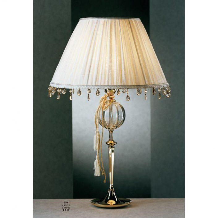 Oryginalna lampa stołowa z kryształu 394 Il Paralume Marina