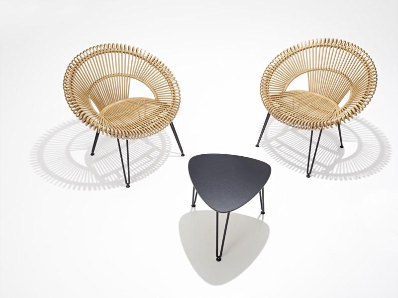 Rattanowe krzesła