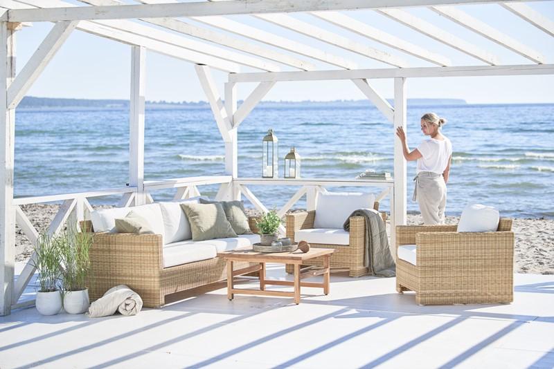 Wiklinowe meble ogrodowe w nowoczesnym stylu SD-E130-NAT SD-E330 9464U Julian meble Sika