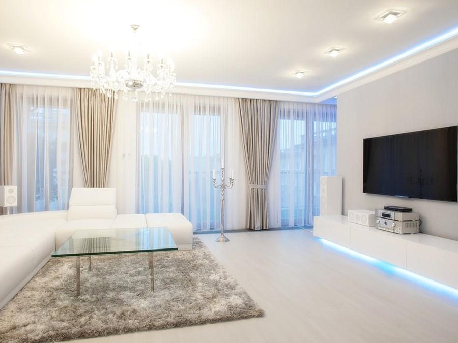 Stylowe Zasłony Do Salonu 6 Trendów Aranżacyjnych Homesquare