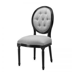 Klasyczne krzesło do jadalni Louis Philip Eichholtz