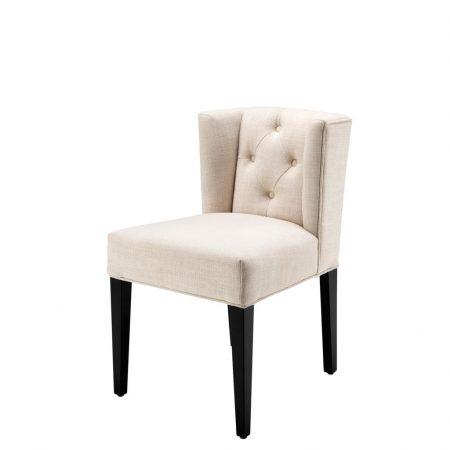 Eleganckie krzesło do jadalni Boca Raton Eichholtz