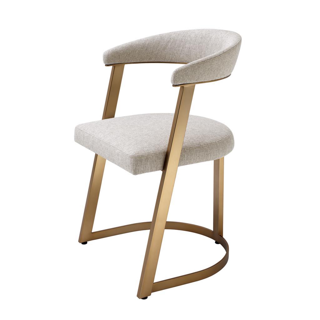 Oryginalne krzesło do jadalni Dexter Eichholtz