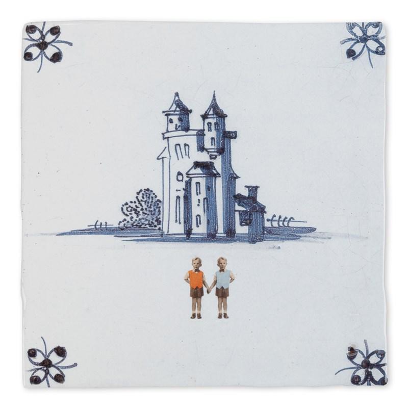 Ceramiczne płytki z Holandii