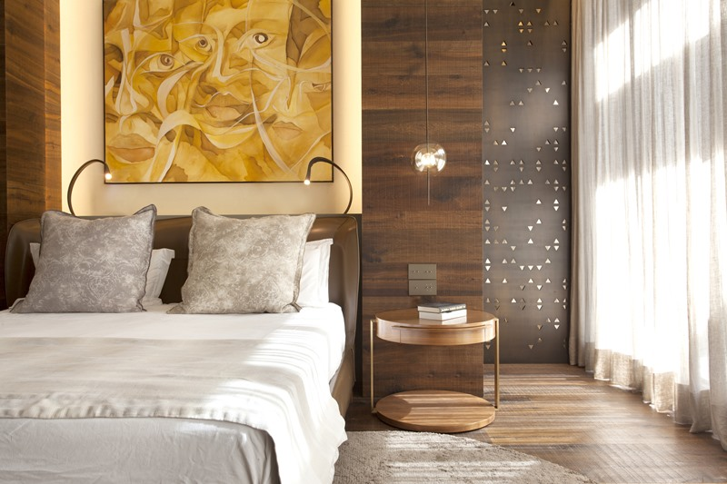 Ekskluzywna sypialnia w apartamencie
