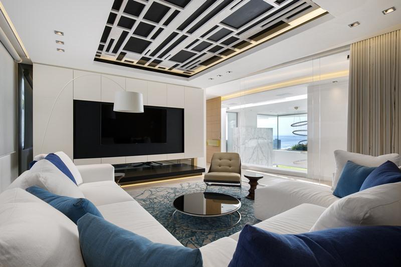 Wnętrze nowoczesnego apartamentu