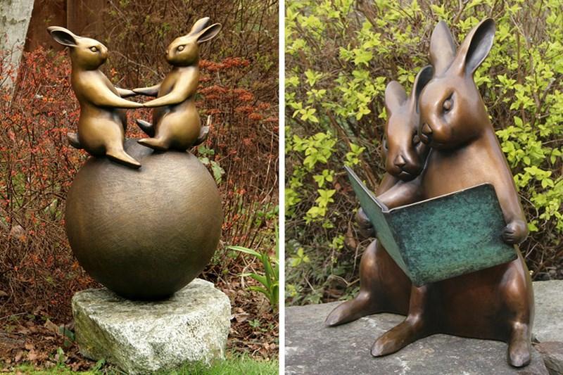 Animalistyczne rzeźby Georgii Gerber