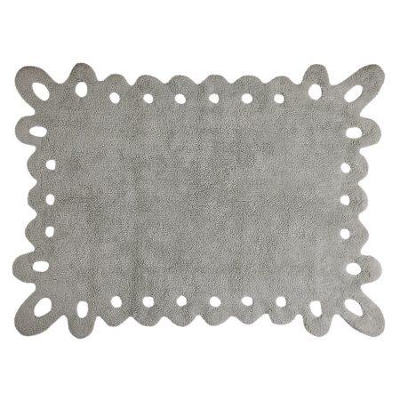 Szary dywan młodzieżowy do prania 120x160 Puntilla Lorena Canals