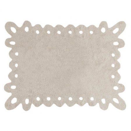 Beżowy dywan młodzieżowy do prania 120x160 Puntilla Lorena Canals