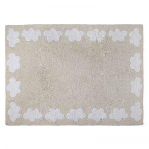 Beżowy dywan Chmurki do prania 120x160cm Lorena Canals