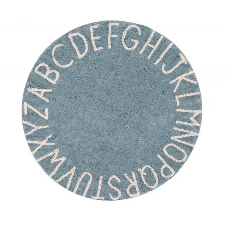 Okrągły, niebieski dywan do prania 1500 cm Canals