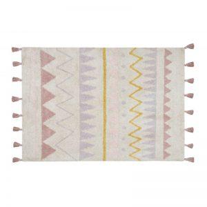 Wzorzysty, prostkątny dywan do prania Azteca Lorena Canals