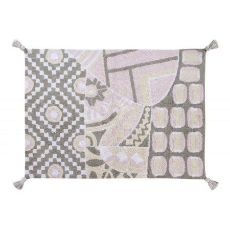 Szaro-różowy dywan do 120x160 Indian Lorena Canals