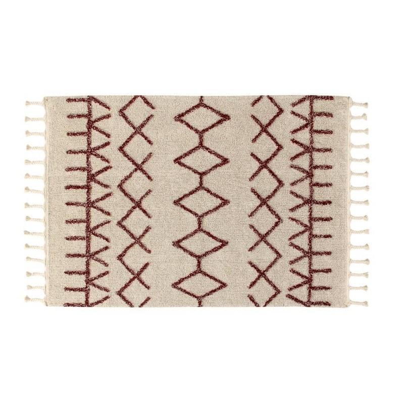 Beżowy dywan Bereber do prania Lorena Canals