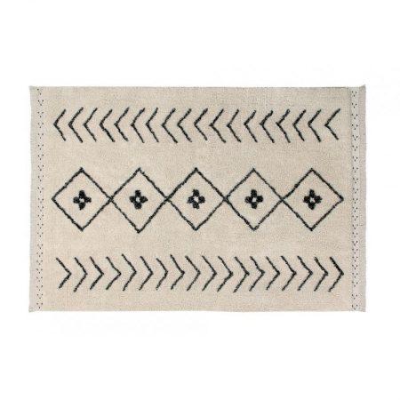 Beżowy dywan w romby do prania 120x170 Lorena Canals